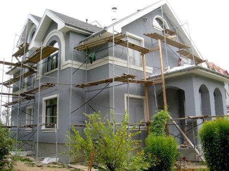 Отделка фасада здания композитными панелями