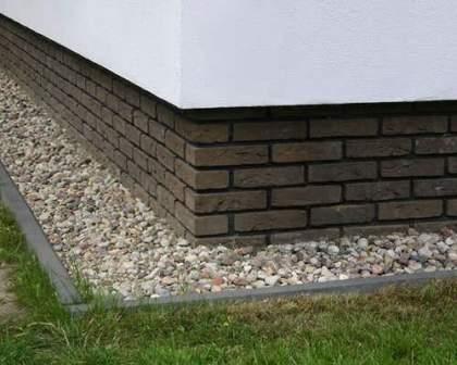 Дизайнерская отделка цоколя дома Декоративный кирпич на балконе: варианты отделки