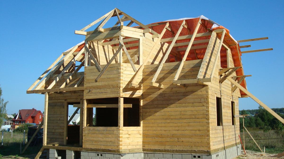 Строить дом зимой своими руками