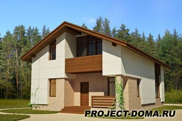 Проекты домов пеноблока