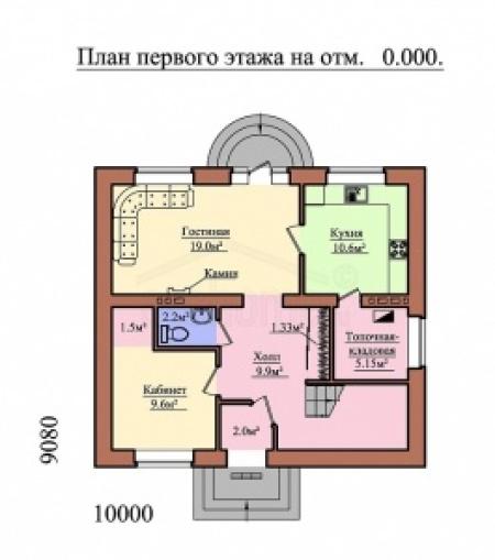 Строительная компания Русский Дом имеет лицензию на проектные работы