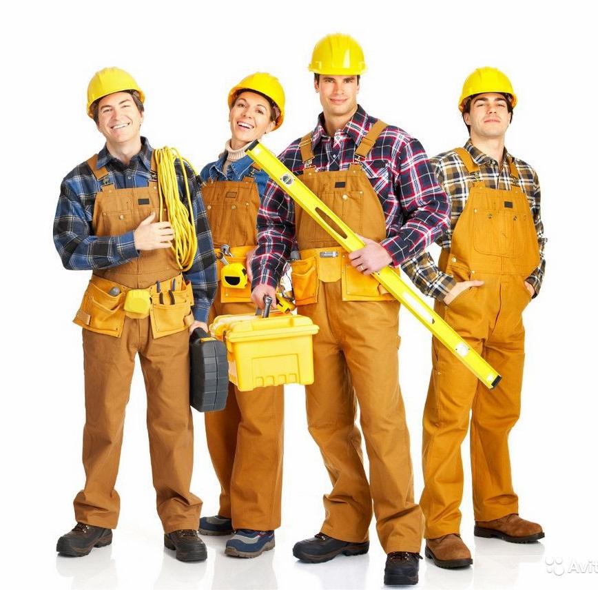Бригада на строительство домов