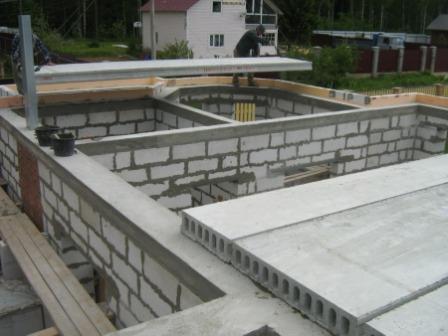 Перекрытие этажа бетоном куб бетона крым купить